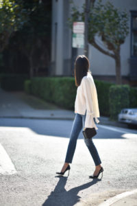 Blogger Anh from 9to5chic shows how the details make an outfit Photo credit: 9to5chic.com